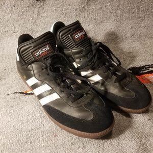 Adidas samba black and white 10.5